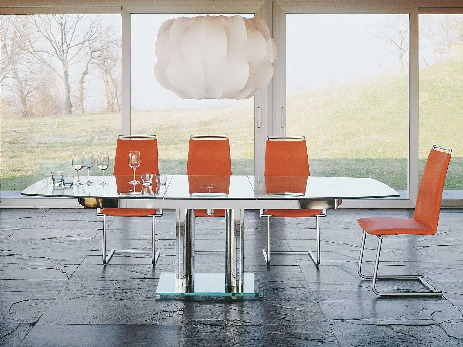 Table with sliding plate by Thomas Althaus